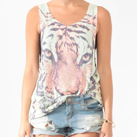 Longline Tiger Sublimation Tank