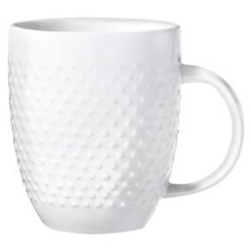 Porcelain Dinnerware 4pc Beaded Coffee Mugs - Threshold™