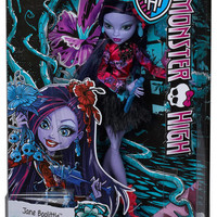 MONSTER HIGH® Gloom and Bloom™ Jane Boolittle® Doll - Shop.Mattel.com