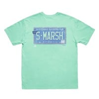 Backroads Collection - Trademark Tee in Bimini Green by Southern Marsh