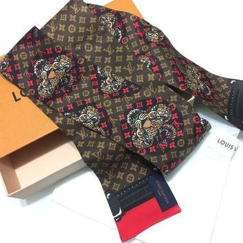 ONETOW Louis Vuitton Animalle Bandeau Scarf