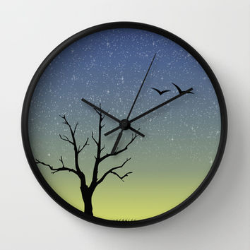 Last Light Wall Clock by Jozi