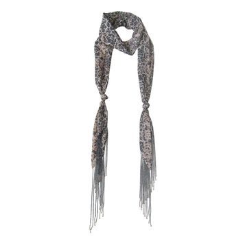 Georgette Skinny Scarf; Handmade; Spring Collection