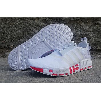 Adidas PW NMD Running Shoe - White/Red