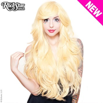 "RockStar Wigs®  Hologram 32"" - Light Blonde Mix -00618"