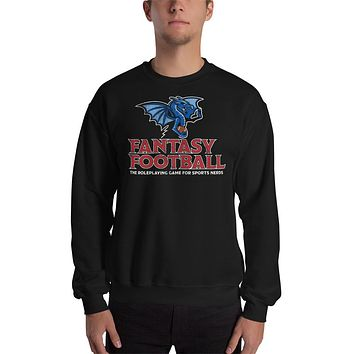Fantasy Football Roleplaying The Game for Sports Nerds Crewneck Sweatshirt