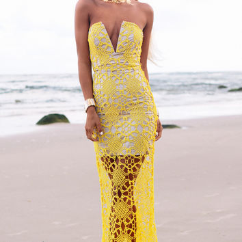 Marrakech Gown - Citrus | SABO SKIRT