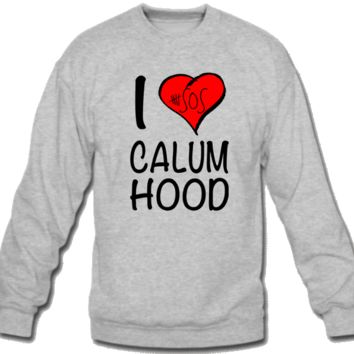 5 Seconds of Summer I Love Calum Hood Sweatshirt Crew Neck