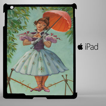Disney Haunted Mansion Stretching Painting Ballerina I0055 iPad 2, iPad 3, iPad 4, iPad Mini and iPad Air Cases
