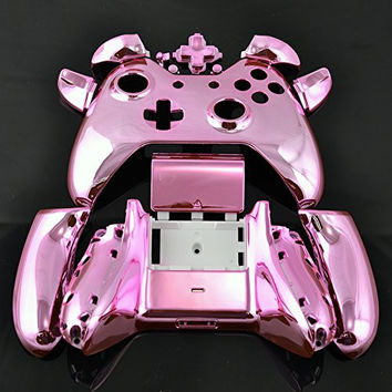 Xbox ONE Chrome Pink Full Replacement Controller Shell