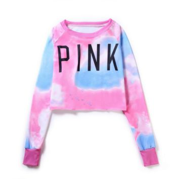 The New Women's Loose Pink Pullovers Hoodies Coat Great Gifts