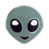 Alien Emoji Pin