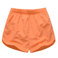 High quality summer men's running shorts sports short Polyester quick dry jogging short  M-2XL