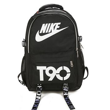 Nike Casual Fashion Simple School Backpack Travel Bag