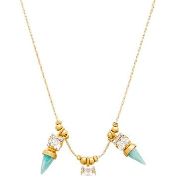 Lionette by Noa Sade Nairobi Necklace in Metallic Gold