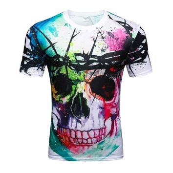 Colorful 3D Printed High Quality Tees #thornskull
