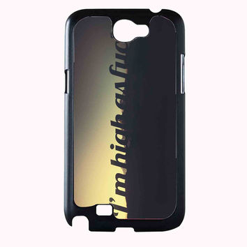 hipster quote 2 FOR SAMSUNG GALAXY NOTE 2 CASE**AP*