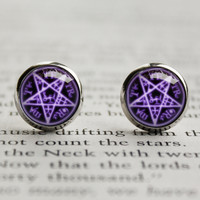 Black Butler kuroshitsuji earrings Sebastian