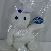 Pillsbury Doughboy Plush Beanbag Doll 1997