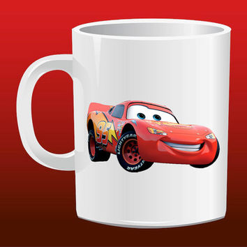 Lightning McQueen, McQueen for Mug Design