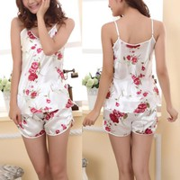 Sexy Women's Comfortable Ladies Sexy Sleepwear Pajamas Set