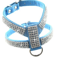 Dog Collar Fashion Pet Collar Dog Necklace For Pet Adjustable Quick Release Puppy Shining diamond Rhinestone Sparkly