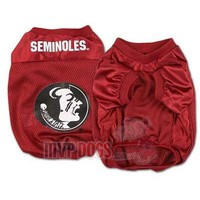 Florida State Seminoles NCAA Official Replica Dog Jersey