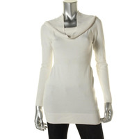Guess Womens Knit Long Sleeves Tunic Sweater