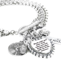 I Love to Sing, Music Charm Bracelet