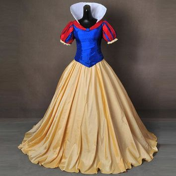 ICIKHY9 Snow White Costume for adult Halloween Costumes for women Snow queen Costume party princess dresses