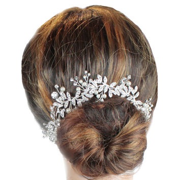 Bridal Hair Vine, Wedding Hair Vine, Hair Jewellery, Bo Ho Hair Vine, Bridal Hair Vine, Woodlands  Hair Vine