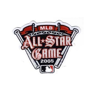 2005 Official MLB Baseball All Star Game Patch