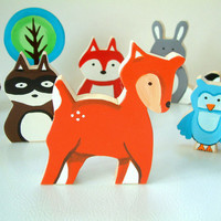 Woodland Animal Of Your Choice - Wooden Toy
