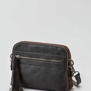 AEO Crossbody Panel Bag , Black