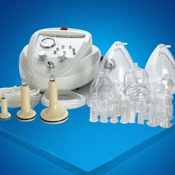 Electric  Vacuum Therapy Machine, Lymph Drainage, Face Slimming, Breast Enlarger, enhancing cupping device