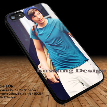 Louis Tomlinson Wearing Beanie iPhone 6s 6 6s+ 5c 5s Cases Samsung Galaxy s5 s6 Edge+ NOTE 5 4 3 #music #1d DOP2161