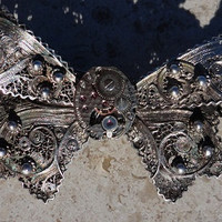 Antique Filigree Steampunk Gothic Metal by CulturalDiversion
