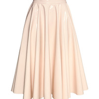 Patent skirt - from H&M