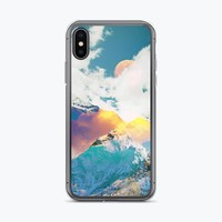 Dreaming Mountains iPhone Case