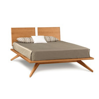 Copeland Astrid Bed with Adjustable 2-Panel Headboard