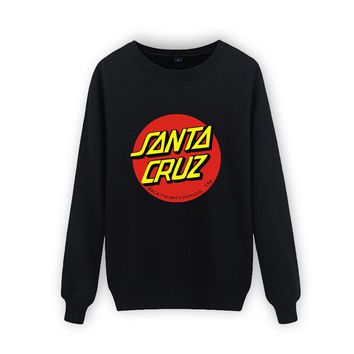 Santa Cruz Cotton High Quality Sweatshirt Men Hip-Hop Luxury Hoodies and Street Wear jumper Skateboards Sweatshitshirt XXS-XXXXL
