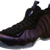 NIKE Air Foamposite One Eggplant Fashion Lifestyle Mens Sneakers Black/Varsity Purple New 314996-008