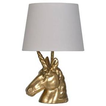 Table Lamp Gold (Includes CFL bulb) - Pillowfort™ : Target