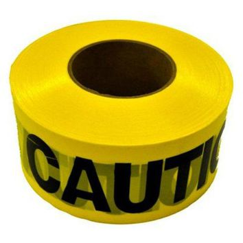 CH Hanson® 19000 Weatherproof Caution Tape, 1000', Yellow