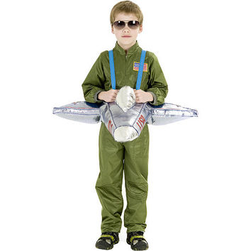 Plush Ride-In Airplane Halloween Costume - Child One Size - Buyseasons 1010726 - All Halloween Costumes - FAO Schwarz®