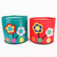 Floral Red Storage Clothing Storage Basket = 5892885889