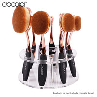 Docolor oval makeup brush holder 1 Set toothbrush makeup brush stand not including oval brush set only ova brush holder