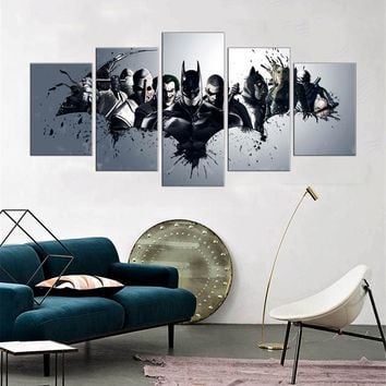 Batman 5 Piece Canvas