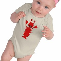 Happy Lobster Tee Shirt from Zazzle.com