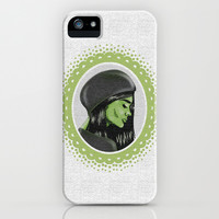 Elphaba iPhone & iPod Case by Raven Jumpo